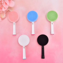 Brush-Head Skin-Care-Tools Cleaning-Brush Electric-Toothbrush-Replacement Silicone Facial-Massager