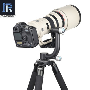 Image 2 - INNOREL CH5 المهنية Gimbal رئيس ناتئ ترايبود رئيس 360 درجة عالية التغطية بانورامية لعدسة كاميرا رقمية ثقيلة