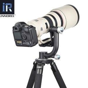 Image 2 - Innorel ch5 cabeça cardan profissional cabeça do tripé cantilever 360 graus de alta cobertura panorâmica para a lente da câmera digital pesada