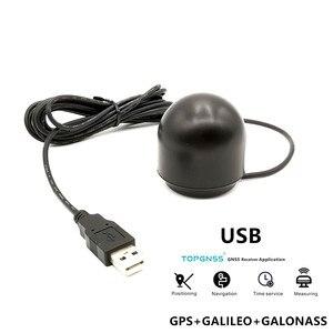 GNSS GLONASS GALILEO receiver Antenna module USB output USB GPS receiver G-mouse ,better than BU-353S4 TOPGNSS module(China)