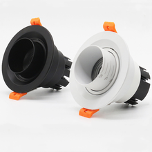 New Background wall LED downlight indoor lighting dimmable embedded setting 15-60 degrees COB 8W12W 15W 20W