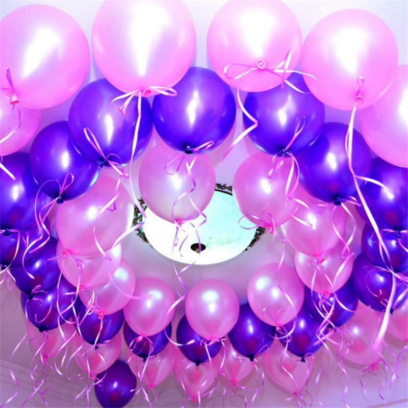 10/20/30/50Pcs 10inch Pearl Latex Balloons For Birthday And  Wedding Party 3