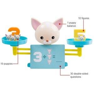 Image 3 - Hond Balance Math Kids Educatief Speelgoed Voor Kinderen Voorschoolse Onderwijs Wedstrijd Balancing Schaal Nummer Spel Leren Optellen En Aftrekken
