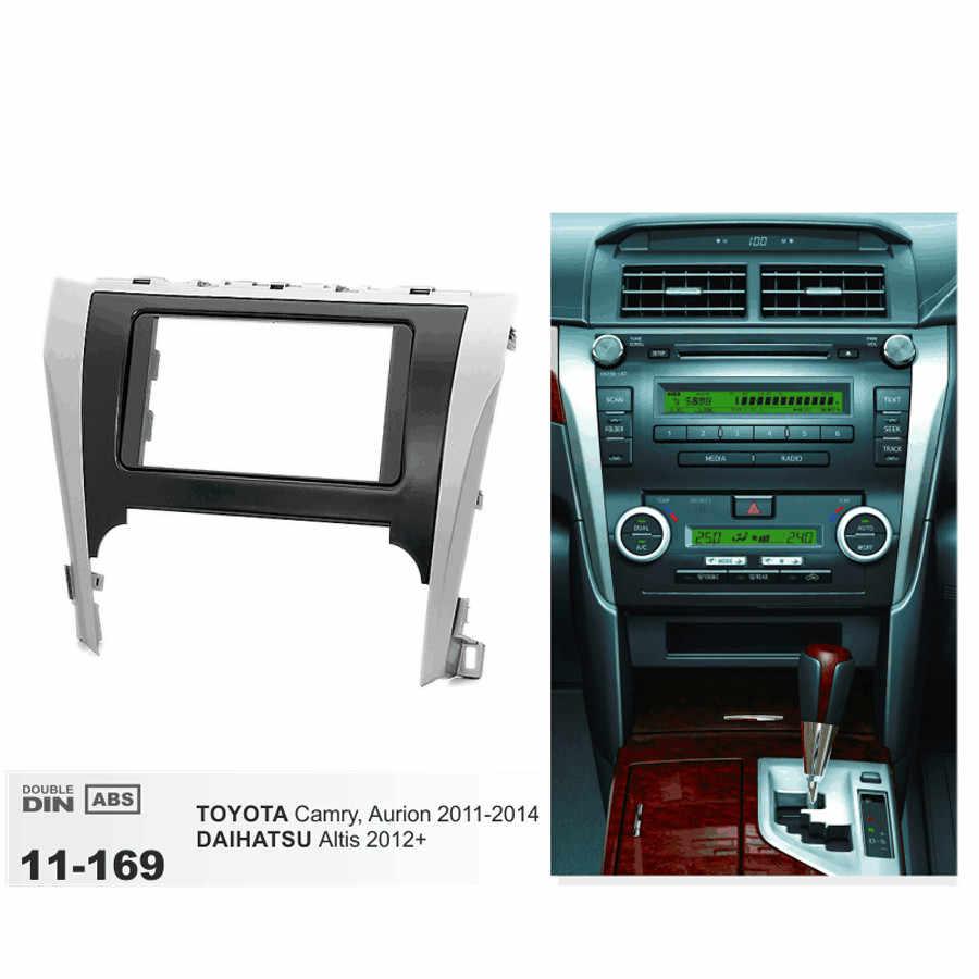 11-169 Radio CD per Auto Fascia Surround Pannello per TOYOTA Camry 2011-2014 Stereo Fascia Dash CD Trim telaio di montaggio Kit