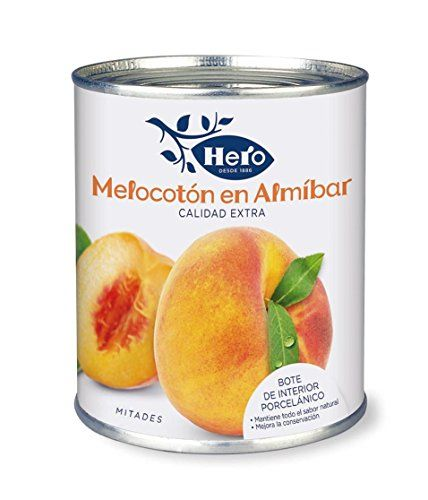 Hero - Melocotón En Almíbar - 845 G
