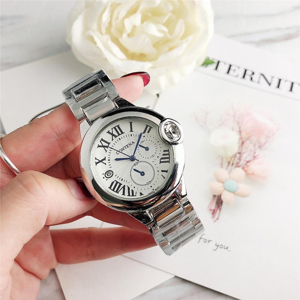 Women Watches New Rose Gold Wrist Watch Fashion Ladies Watch Casual Quartz Wristwatch Stainless Steel Strap Date Female Clock