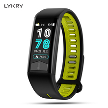 LYKRY T02 ECG Smart Bracelet Healthy Tracker Body Temperature IP68 Waterproof 13 kinds of languages Watch For men women