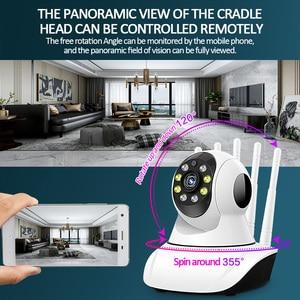 Image 5 - Monitor sem fio do bebê da câmera do cctv da vigilância interna da câmera 1080g 5g da segurança da dupla faixa completa de hontusec hd 2.4 p wifi ip câmera 360g