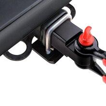 العالمي مقطورة المثبط استقرار U وصمة عار الثقيلة الصلب مكافحة حشرجة عقبة تشديد السلامة قفل سحب المشبك لسيارة RV SUV