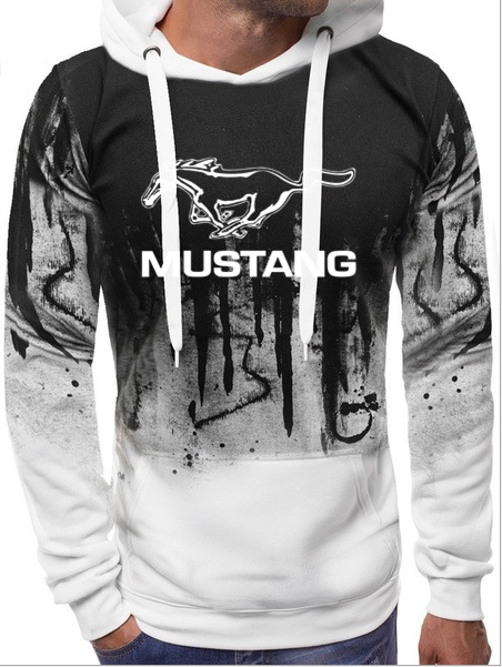 Sweat shirt Hoodie Mustang auto capuche sweatshirt shelby youngtime muscle car