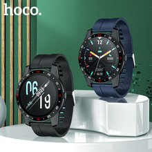 HOCO New smart watch IP67 Waterproof Sport Men Women Bluetooth Smartwatch Fitness Tracker Heart Rate Monitor For Android IOS
