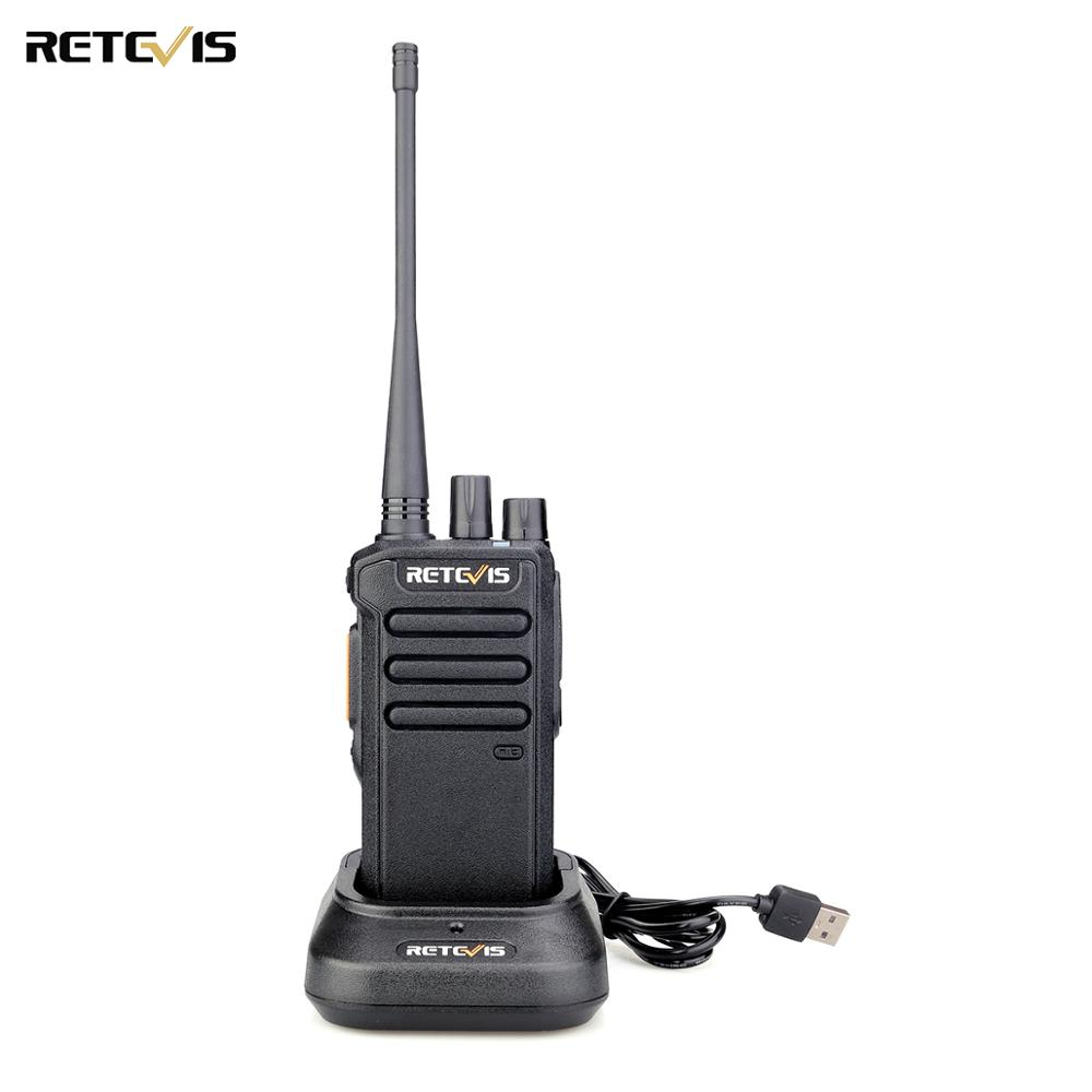 5W Retevis RT43 DMR Digital Two Way Radio UHF <font><b>400</b></font>-480 <font><b>MHz</b></font> 32CH Radio Communicador USB Charger Walkie Talkie Digital/Analog Radio image