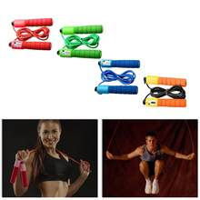1 Pc Counting Skipping Adult Figure Skipping Length Can Be Counting Flexible Soft Plastic Rope(China)