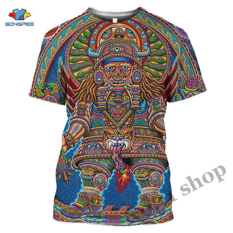 Verano antiguo Dizzy Mens camiseta Galaxy tatuaje psicodélico impresión 3D mujeres/hombres Hypnotize camiseta Hip Hop Casual Tees Tops Graph Lámpara de mesita de noche, luz LED para acuario, medusas hipínticas, escritorio relajante, mesa de fantasía con cambio de Color para niños, estilo de ambiente relajante