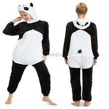 Śmieszne Panda piżamy dla kobiet i mężczyzn zwierząt Onesie piżamy rekin Onesie Lilo i stich piżamy kombinezony damskie kombinezony tanie tanio Little Bitty Poliester Unisex Pasuje mniejszy niż zwykle proszę sprawdzić ten sklep jest dobór informacji Flanelowe