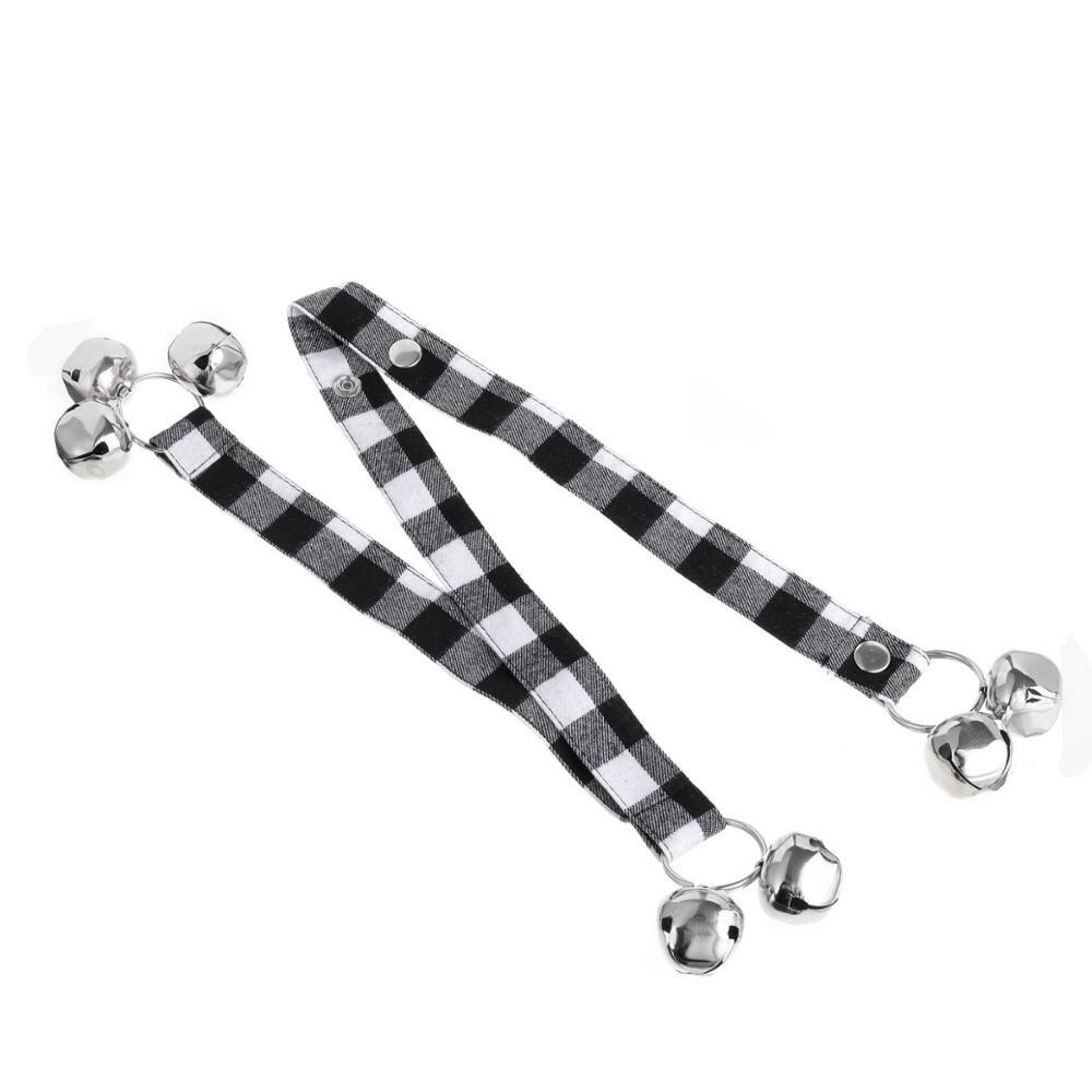 Dog Doorbells With Rope Premium Quality Training Great Dog Bells Adjustable Door Bell Pet Dog Training Supplies-5