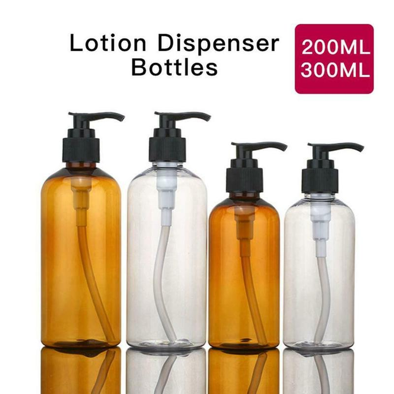200 Ml/300 Ml Bath Gel Soap Dispenser Dispenser Lotion Shampoo Empty Cosmetic Capacity Bottles Bottle Bathroom Large R8O4