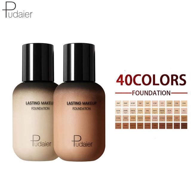 Pudaier Face Foundation Makeup Liquid Foundation Cream Matte Foundation Base Face Concealer Cosmetic Dropshipping Makeup
