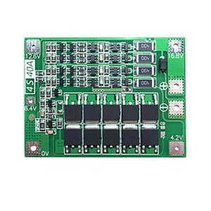 Image 5 - BMS 3S/4S 40A 12V ليثيوم أيون ليثيوم 18650 بطارية لوح حماية حزم لوحة دارات مطبوعة التوازن الدوائر المتكاملة الإلكترونية وحدة