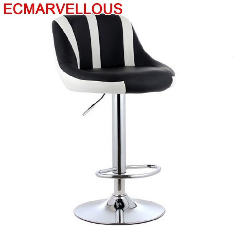 Comptoir Table Stuhl Banqueta Todos Tipos Sandalyeler Taburete Kruk Barstool Leather Tabouret De Moderne Silla Cadeira Bar Chair