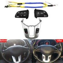 Pulsante volante per volante KIA Sportager canale Audio e pulsante di controllo della velocità costante interruttore volume