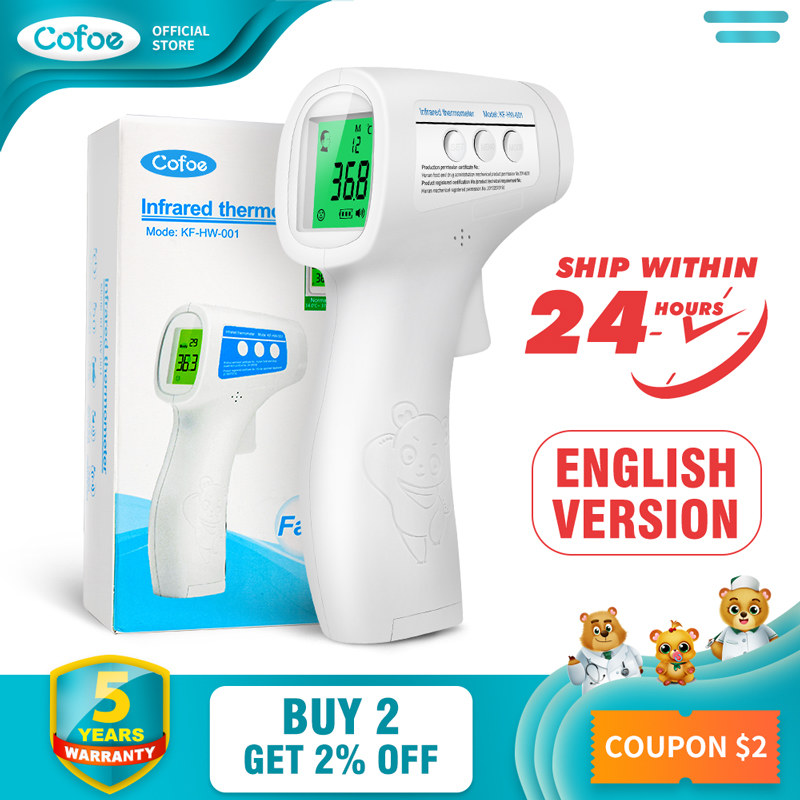 Cofoe Non-contact body thermometer…