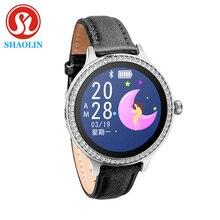 Relógio inteligente feminino ip68 impermeável relógio inteligente feminino lembrete menstrual monitor de freqüência cardíaca pressão arterial senhoras rastreador