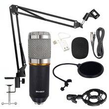 BM800 karaoke microphone studio condenser mikrofon mic bm-800 For KTV Radio Braodcasting Singing Recording computer BM 800