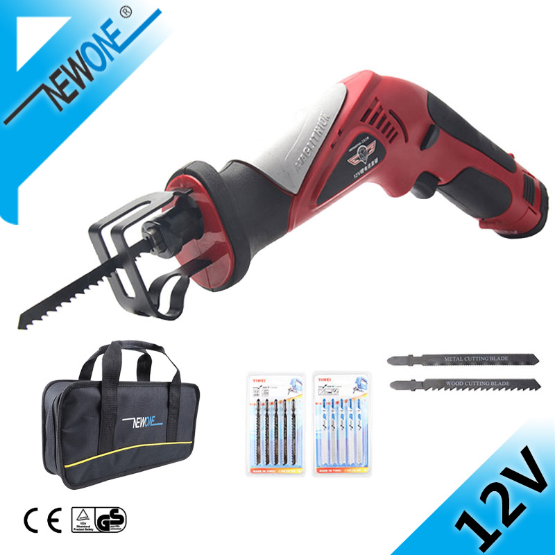 HEPHAESTUS 12V Mini Jig Saw Saber Saw Cordless Electric Power Tools Reciprocating Saw With Battery for Wood/Plastic/Metal cutter