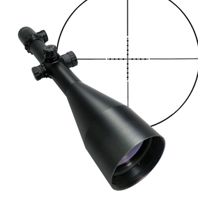 Mira telescópica para caza y Tiro de 4-50x75 de largo alcance de 35mm, mira telescópica óptica militar, Mira de rifle con retícula de punto mil de francotirador