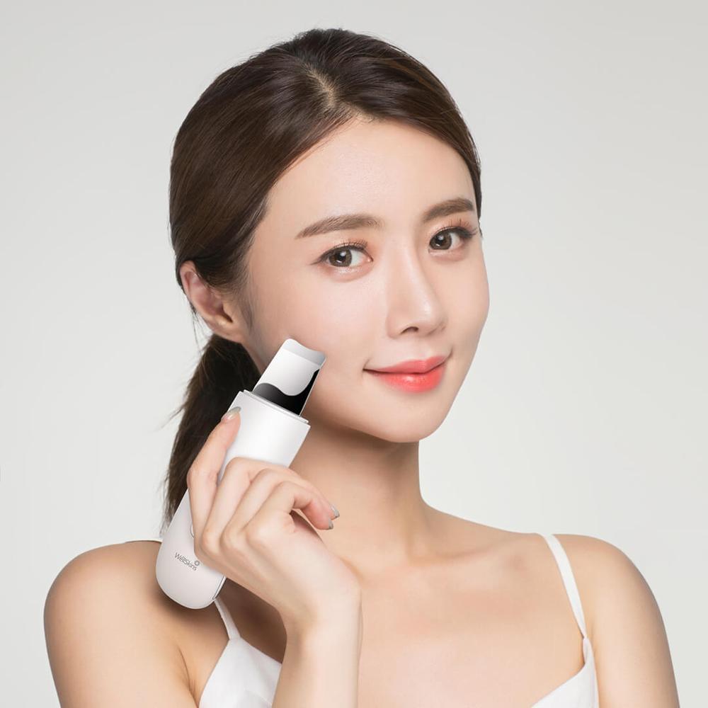 Nuevo Xiaomi Wellskins ultrasónico de la piel Facial limpiador profundo limpieza Blackhead quitar de limpieza recargable belleza instrumento - 2