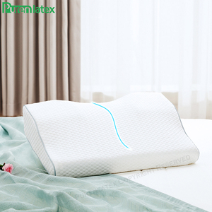 Image 4 - Purenlatex Orthopedic Memory Foam Gel Contour Pillow Ergonomic Cervical Pillow Neck Pain for Side Back and Stomach Sleepers