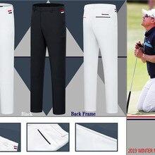 C Новые мужские штаны для гольфа, осенние и зимние спортивные мужские штаны для гольфа, повседневные штаны