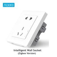 Aqara Smart Wall Socket ZigBee Wifi Remotel Control Wireless Switch Work For Mi Smart Home