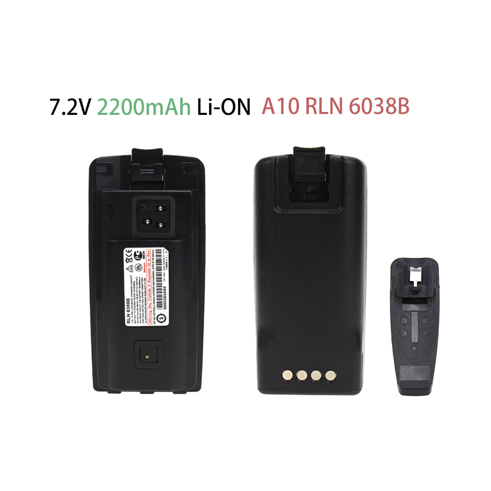 Battery For Motorola A10 A12 CP110 EP150 (1100mAh)