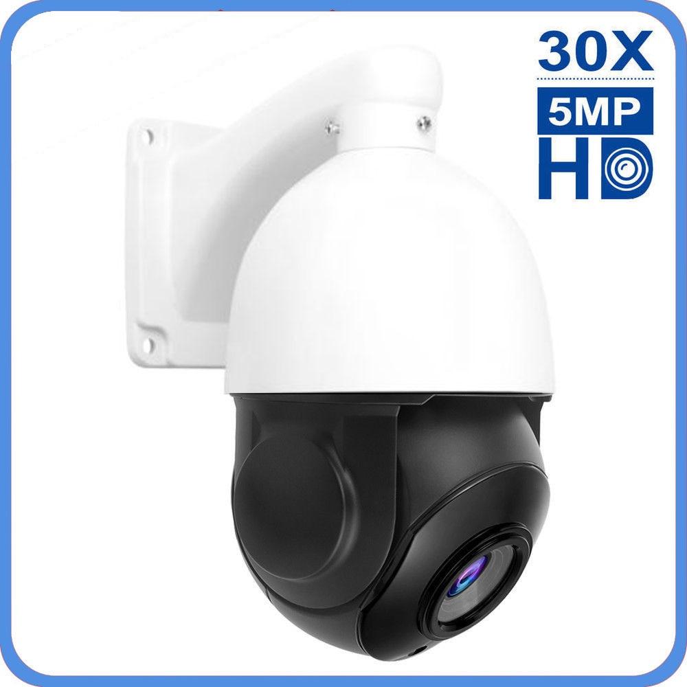 INQMEGA 30X ZOOM PTZ IP Camera 1080P FHD Outdoor Onvif 4 Inch Mini Waterproof Smart Home Security CCTV Surveillance Camera