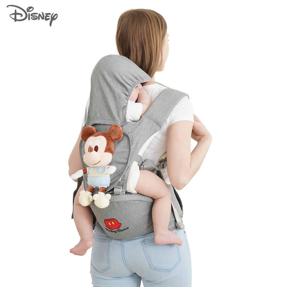 Disney Baby Carrier Waist Stool Newborn Infant Baby Sling Front Facing Kangaroo Baby