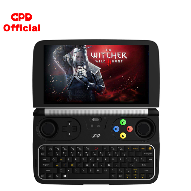GPD WIN 2 Gaming Laptop 8GB ROM 256GB RAM Mini Portable Computer Netbook 6 Inch Intel Core M3-8100Y IPS Touch Screen Windows 10 2