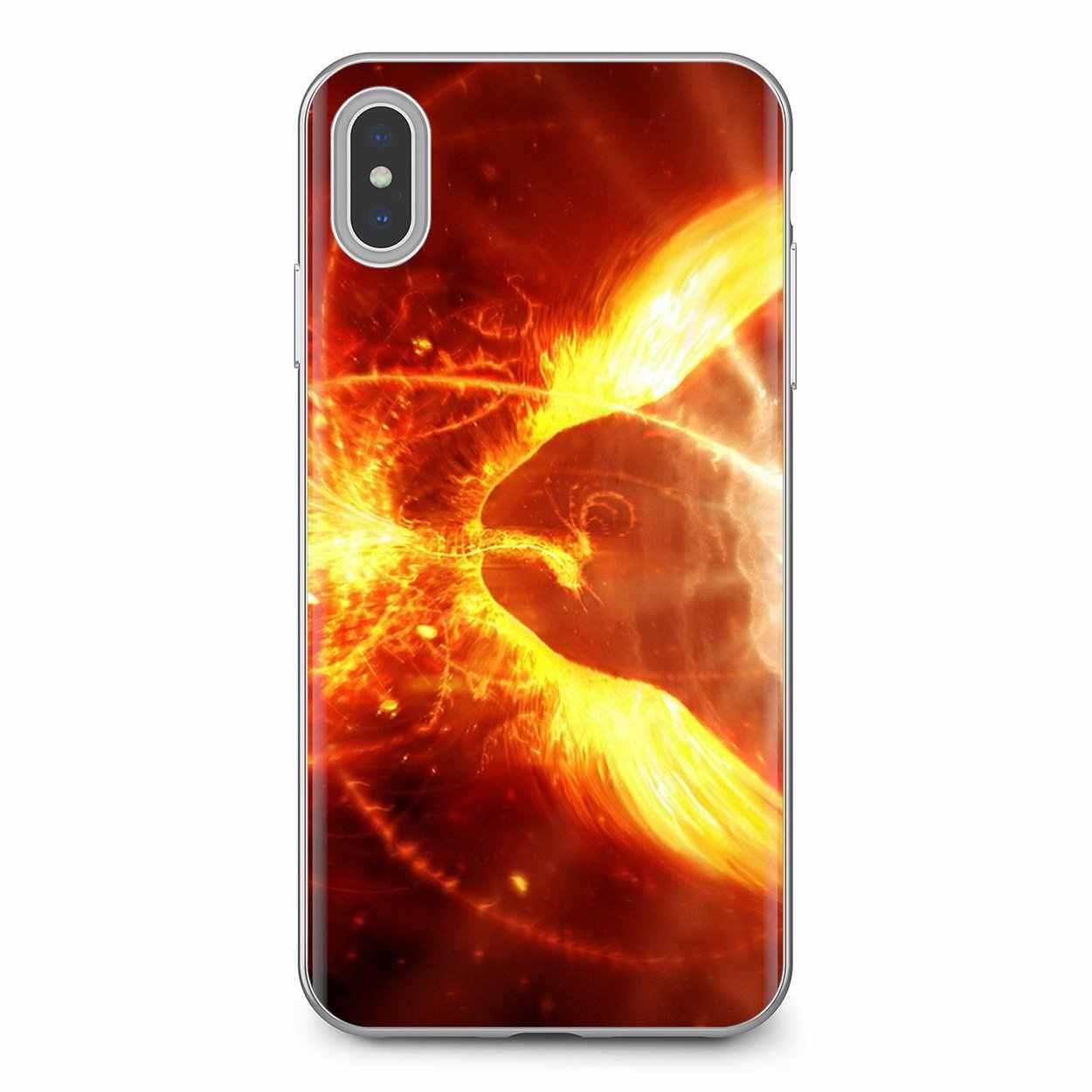 جراب هاتف سيليكون رائع فينيكس ايكاروس دوتا 2 ألعاب فنية لموتورولا موتو G G2 G3 X4 E4 E5 G5 G5S G6 Z Z2 Z3 C Play Plus