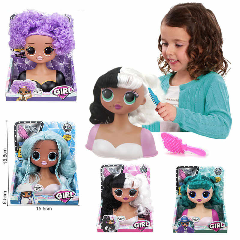 L.O.L. ¡Sorpresa! Lol muñecas sorpresa juguetes de O.M.G invierno Disco Dollie muñeca de moda hermosa pelo lol muñeca generación juguetes hermanos