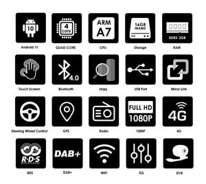 Image 3 - 1024*600クアッドコア2din Android10.0 2グラム + 16グラムrdsカーdvdプレーヤーオペル · ベクトラc d merivaでvivaro tigraシグナムラジオgpsナビ