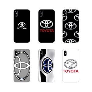 For Samsung Galaxy S3 S4 S5 Mini S6 S7 Edge S8 S9 S10 Lite Plus Note 4 5 8 9 Accessories Phone Cases Covers Toyota Logo Cars