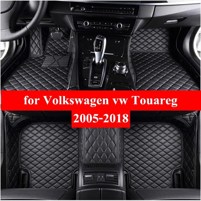 Автомобильные коврики для Volkswagen VW Touareg 2009-2018 Flash Mat кож специальные подушечки автомобильный коврик автомобиля чехлы