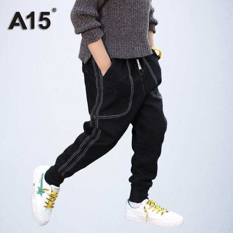 Little Boys Grils Kids Sweatpants Children Elasticwaist Cotton Sports Trousers Jogger Pants for 1-8 Years