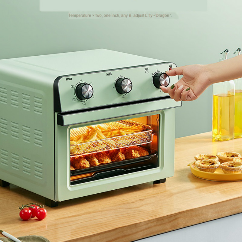 Electric Oven Household One-Machine Air-Frying Multi-Purpose Hot-Air-Integrated-Baking