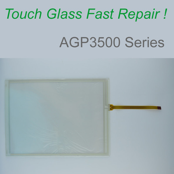 AGP3500-L1-D24 AGP3501-S1-D24 AGP3501-T1-D24 -AF Touch Screen Glass for HMI Panel repair~do it yourself, Have in stock фото