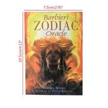 Barbieri zodiac oracle tarô 26 cartas baralho misteriosa orientação adivinhação destino k1kd