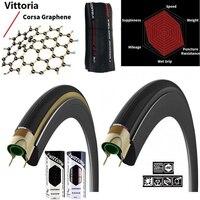 Vittoria corsa 2.0 graphe g + 700c * 23c 25c (320tpi) bicicleta de estrada pneu clincher pneu da bicicleta ajuste 700c chincher aro|Pneus de bicicleta| |  -