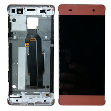 100%High-quality For Sony Xperia XA LCD Display + Touch Screen Digitizer Assembly F3111 F3113 F3115 Pantalla Replacement 5 0 lcd for sony xperia xa f3111 f3113 f3115 lcd display with touch screen display digitizer assembly free shipping
