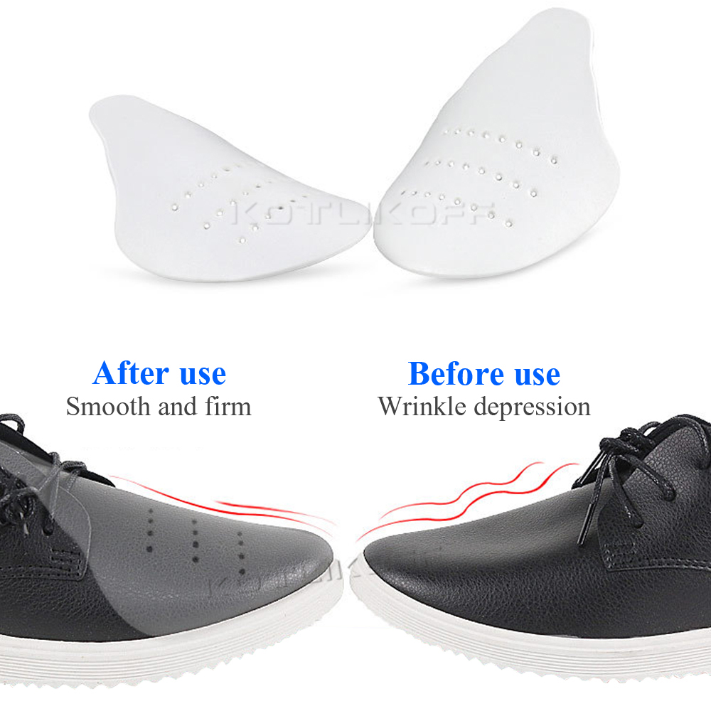Universal Upgrade Shoes Shields For Sneaker Anti Crease Wrinkled Fold Shoe Support Toe Cap Sport Ball Shoe Head Stretcher Keeper